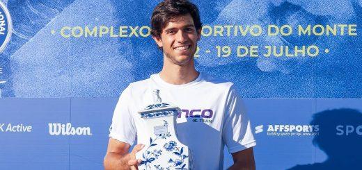 Nuno Borges Campeão nacional de tenis