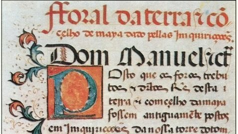 Fac-simile do Foral da Maia - 1519